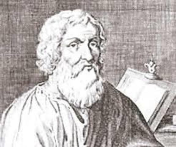 The Greek philosopher Heraclides