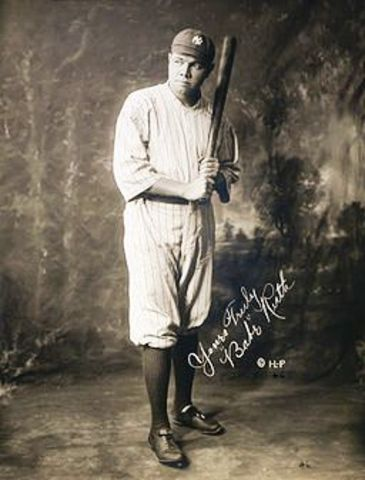 Babe Ruth's Homerun Total