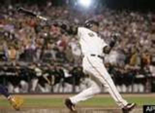 Barry Bonds Homerun Total