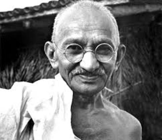 Muere Gandhi asesinado