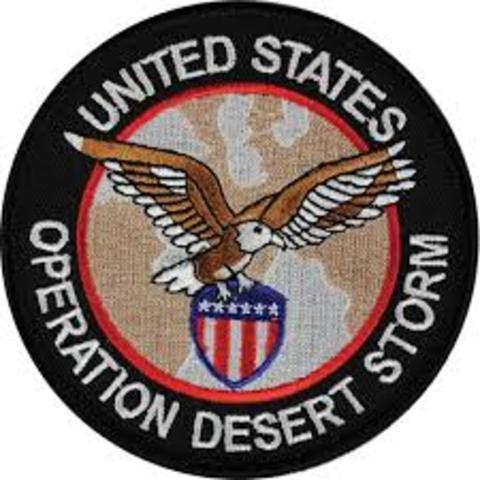 Persian Gulf War- Operation Desert Storm