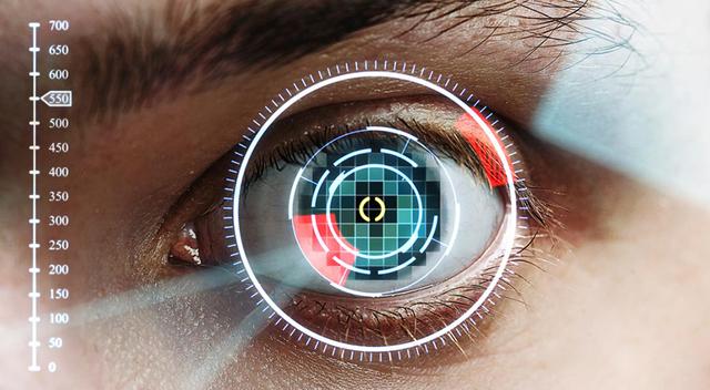 Escáner de retina portátil