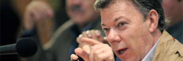 Gobierno descarta negociación con las Farc.