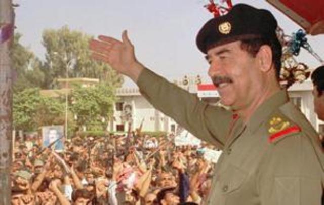 Hussein invades Kuwait