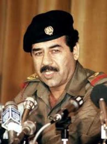 Saddam Hussein Ultimatum-Persian Gulf