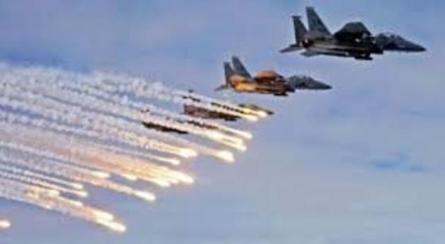 U.S. led coalition launches an air war against Iraq