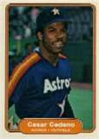 Houston Astro Cesar Cedeno