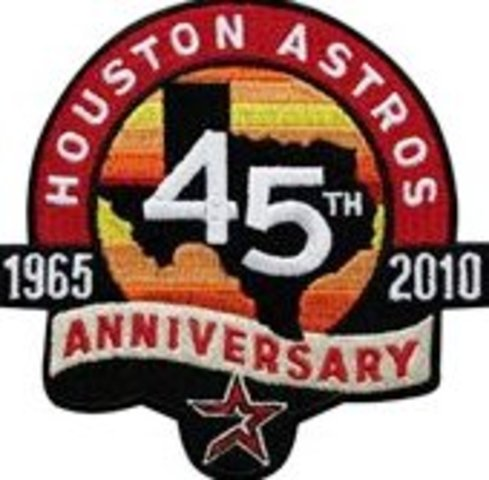 Houston Astros 45th Anniversay