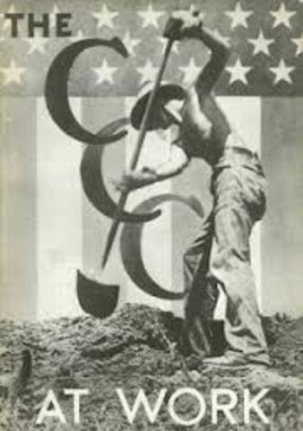 Civilian Conservation Corps founded