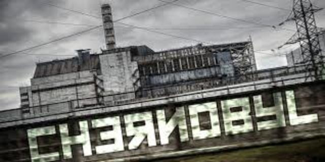 Accidente en la planta nuclear de Chernobil