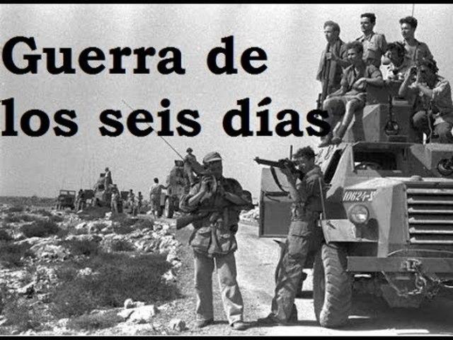 Guerra de los 6 dias en Israel