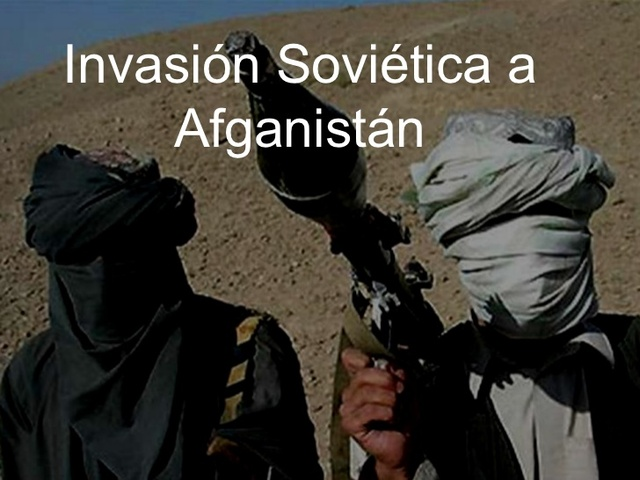Union sovietica invade afganistan