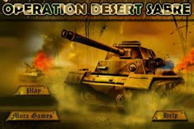 Persian Gulf War- Operation Desert Sabre