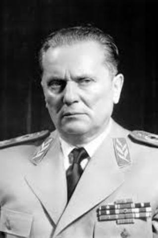 Josip Tito declared President for life