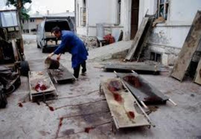 Bosnia- Sarajevo Attacked