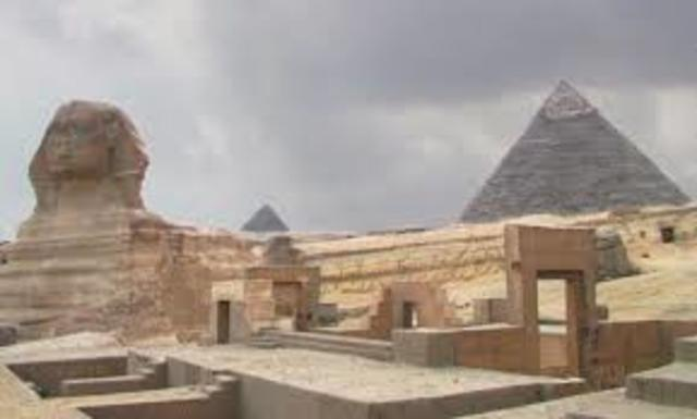 Middle Kingdom of Egypt begins  2050 B.C.