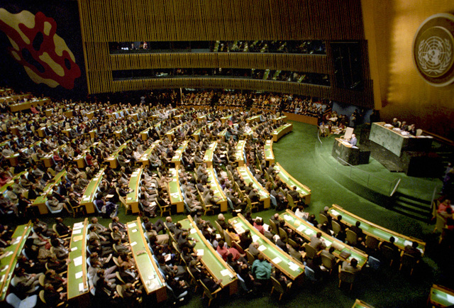 United Nations Ultimatum-Persian Gulf