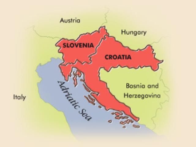 Slovenia and Croatia Declares Independence-Bosnia