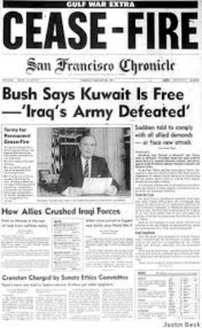 Bush's ultimatium