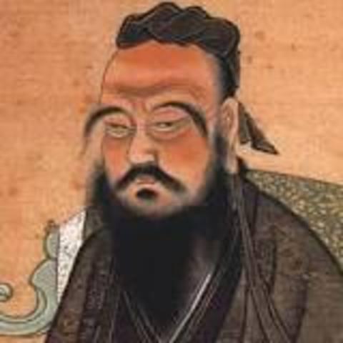 Confucius is born