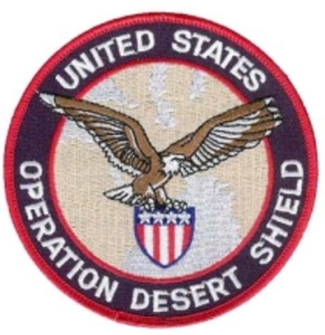 Persian Golf- Operation Desert Shield