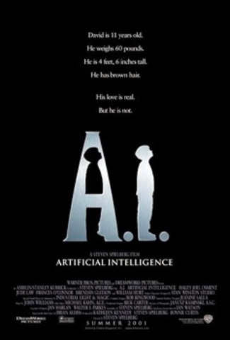 The movie 'A.I.' came out.