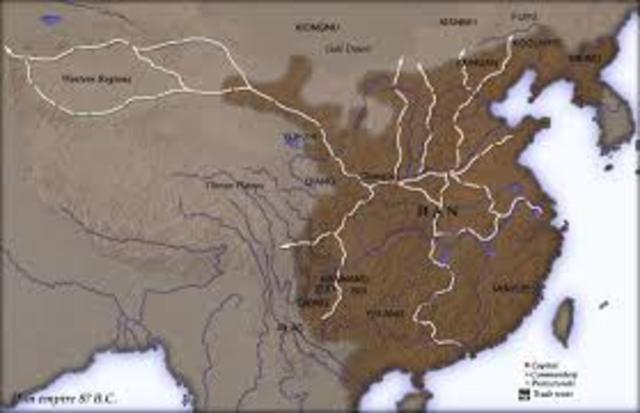 Han Dynasty begins in China