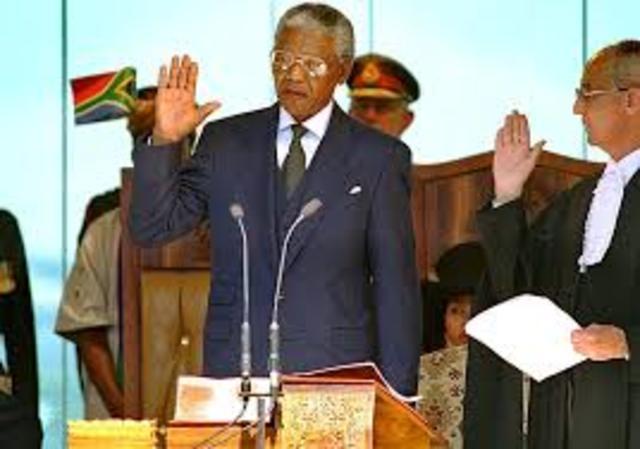 1994 C.E  - Nelson Mandela elected President of South Africa