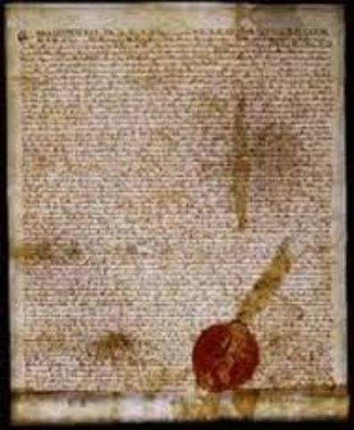 1215 C.E English Magna Carta signed