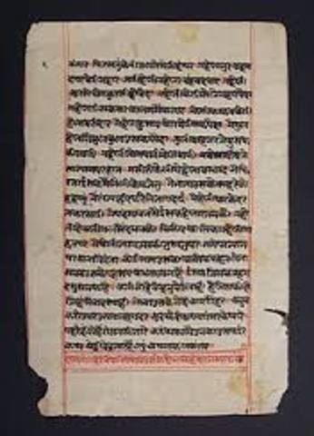800 C.E  Arab traders brought paper from China