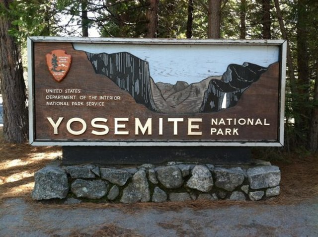 Yosemite and Sequoia National Park founded