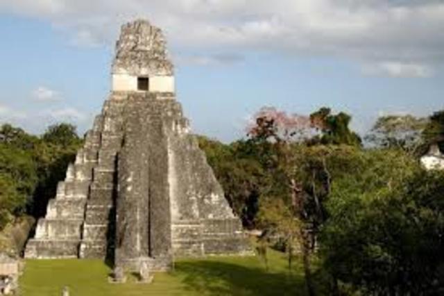 500 C.E Height of Mayan Civilization