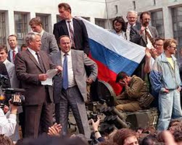 1991 A.D Soviet Union breaks apart