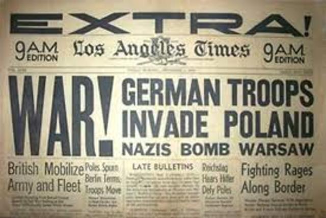 1930 A.D WW2 Begins