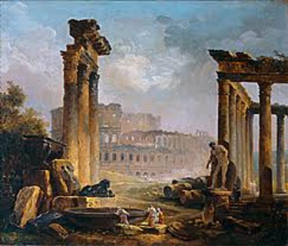 476 A.D  Roman Empire Falls