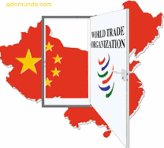 China se integra en la OMC