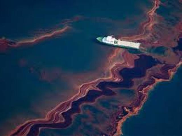 BP oil spill in the Gulf