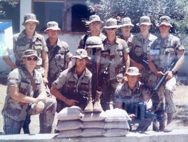 U.S. Soldiers in Mogadishu