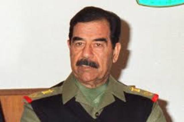 Somalia- Saddam Hussein step down