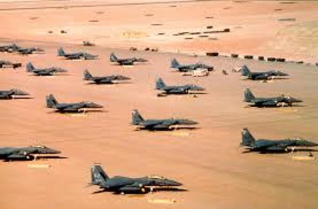 Operation Desert Storm Starts