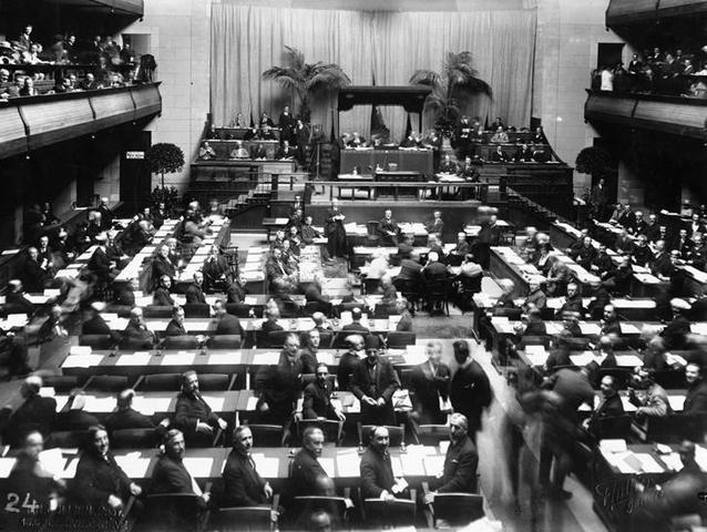 Alemania abandona la Liga de Naciones.