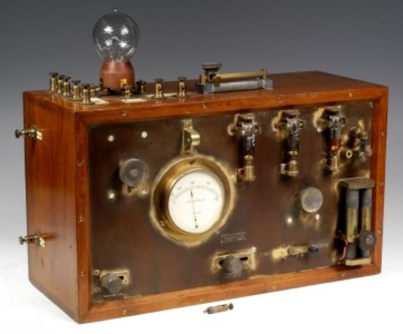 El joven italiano G. Marconi inventa la radio.