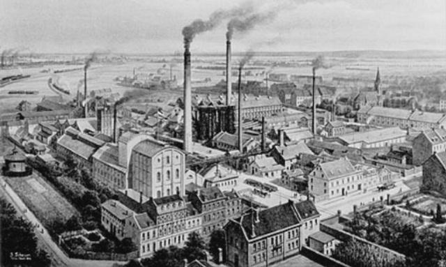 Industrialiseringen kom til Danmark