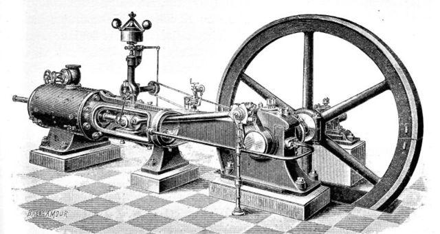 Dampmaskinen