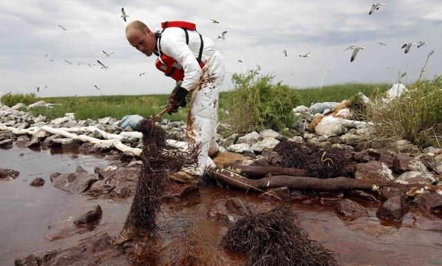 Deepwater Horizon BP Oil Spill in the Gulf