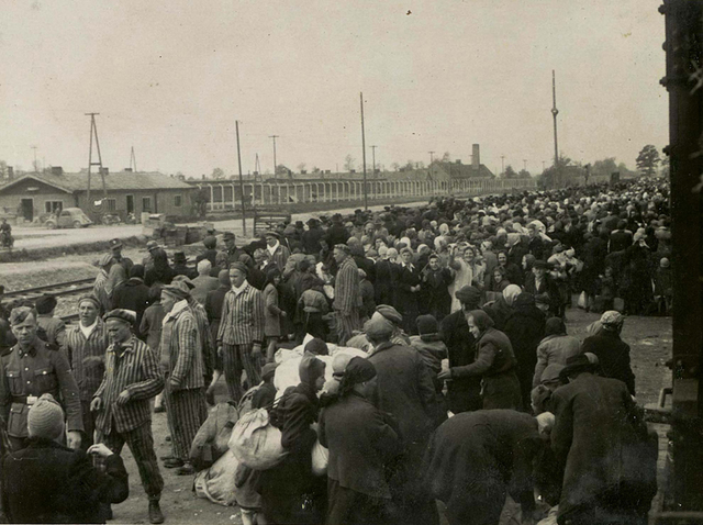 La Gestapo envía a Auschwitz (Polonia) a los primeros 729 prisioneros políticos polacos de los que unos 20 de ellos provienen de la prisión de Tarnow.