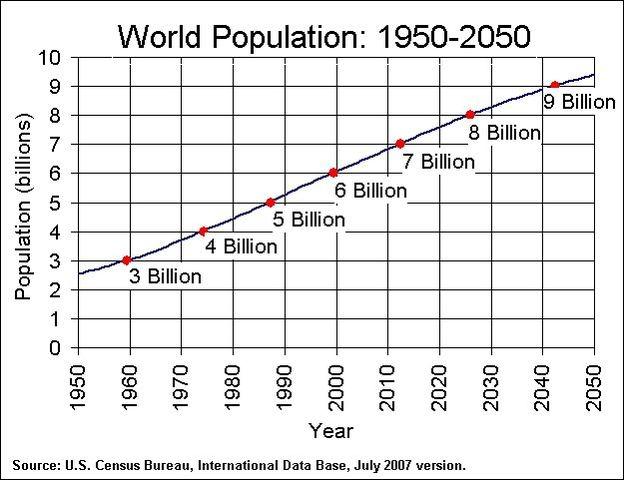 World Population Hits 6 billion