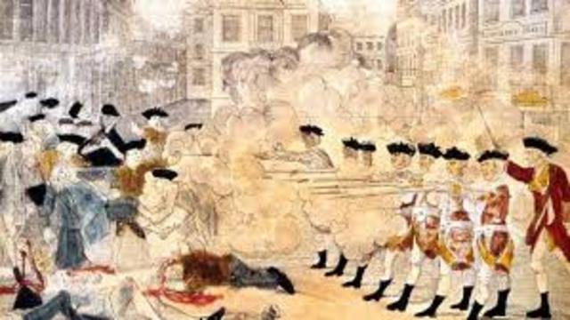 Boston Massacre of 1770