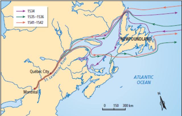 Jacques Cartier Voyages
