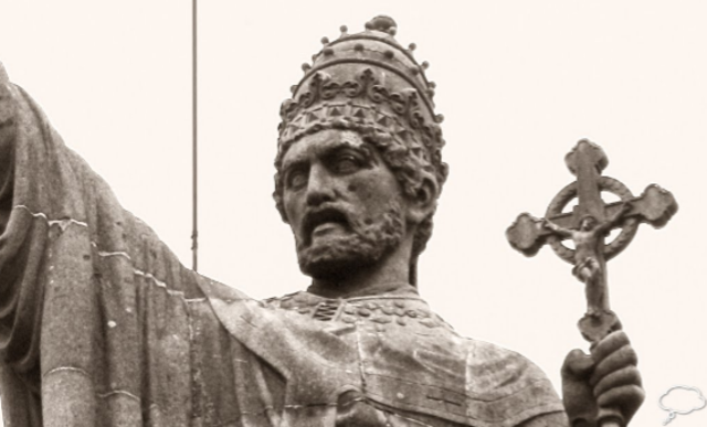 Pope Urban II calls for the Crusades